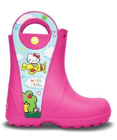 Crocs Handle it Hello Kitty Plane, fuchsia, C8 (25)
