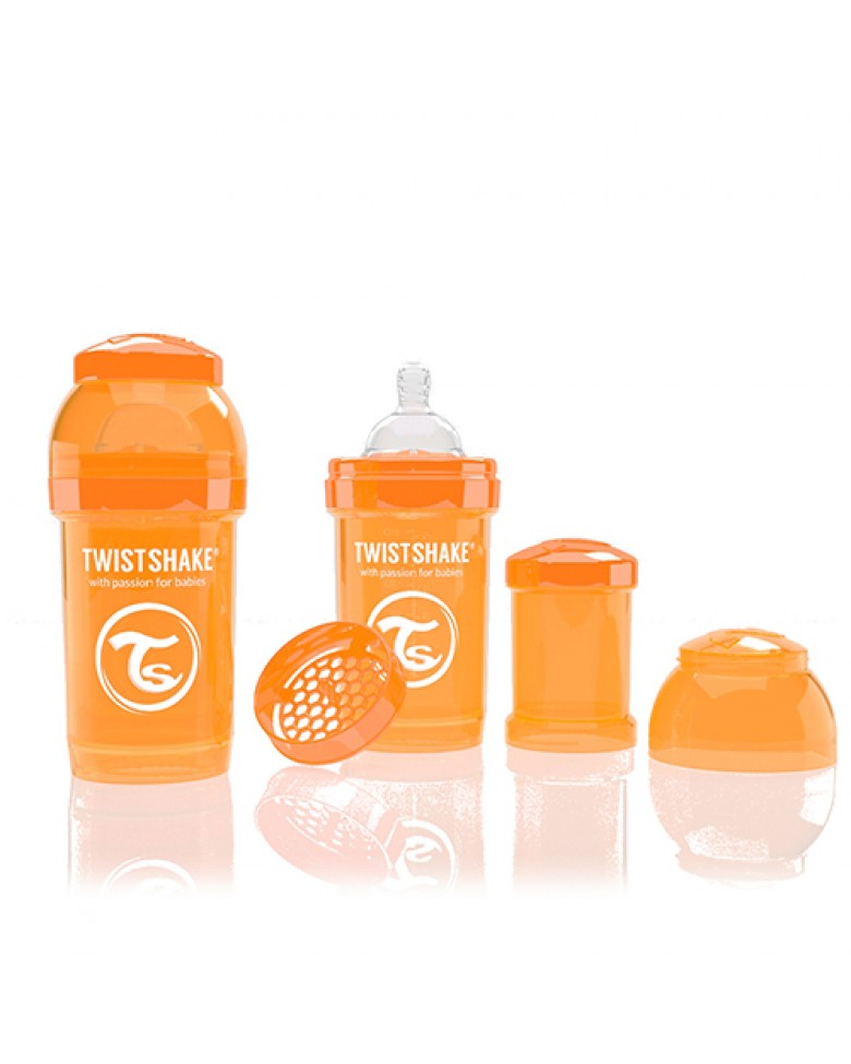 Twistshake Anti-Colic 180ml Orange