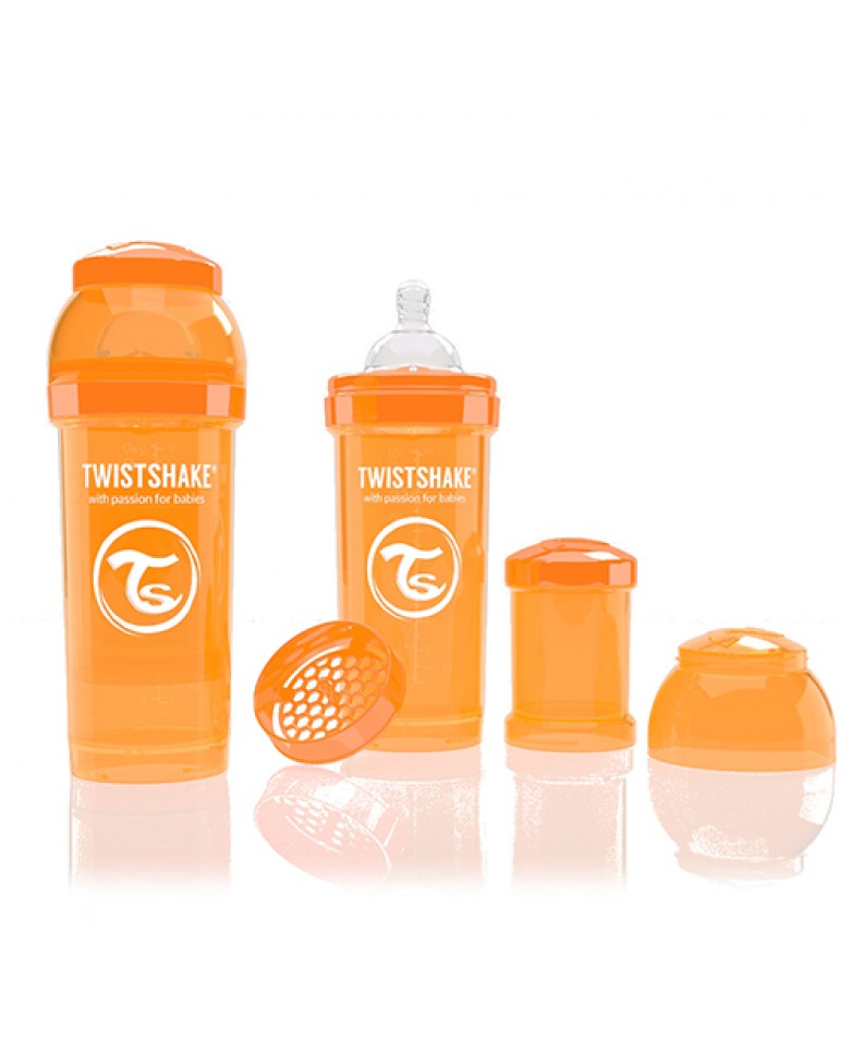 Twistshake Anti-Colic 260ml Orange