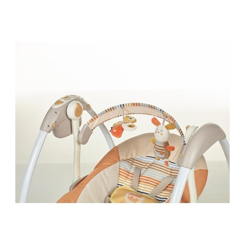 BREVI BRILLY Children's electric swing 528 Natural