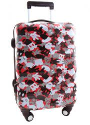 Puzzle Disney Mickey Mouse, Travel suitcase for children, size 31 x 21.5 x 56 cm