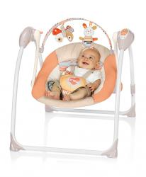 Puzzle BREVI BRILLY Children's electric swing 528 Natural