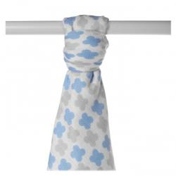 XKKO BMB 90x100 - Scandinavian Baby Blue Cross