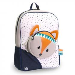 Puzzle Tots Backpack / suitcase for children, Fox, from 3r +