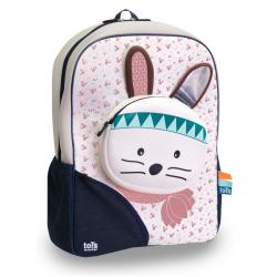 Puzzle Tots Backpack / suitcase for children, Bunny, from 3r +