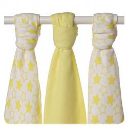 XKKO BMB 70x70 - Little Stars Lemon MIX 3ks