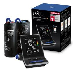Puzzle BRAUN EXACTFIT ™ 5 CONNECT BUA6350, Schultermanometer mit Bluetooth-Funktion