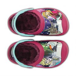 CC Frozen Lined Clog, berry  C10-11 (27-29)