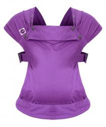 Puzzle Izmi Ergonomic baby carrier with 4 positions, from 0m +, purple