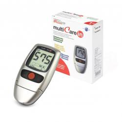 Puzzle MultiCare In BSI Device for measuring glucose (glucometer), cholesterol and triglycerides